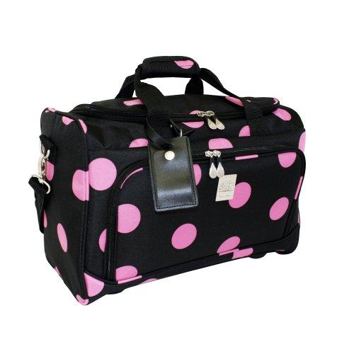 jenni-chan-dots-city-duffel-black-pink-one-size