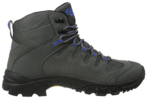 Bruetting Unisex-Erwachsene Canada High Trekking-& Wanderhalbschuhe Grau (Grau/Blau)