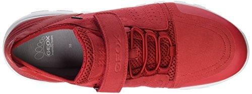 Geox Jungen J Xunday Boy C Low-Top Rot (Redc7000)