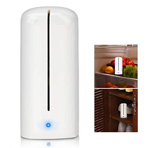 Powcan Ozono Refrigerador Purificador Refrigerador Esterilizador Desodorante Mini Absorbente de Olor...