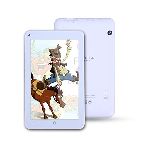 ECVILLA KMAX 19,0cm (7 Zoll) Tablet-Pc (MTK Quad Core, 16GB eMMC, Android 7.0 Lollipop, Wi-Fi ) weiß