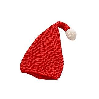 per Sombreros Rojo de Navidad para Niños Sombrero Tejido de Punto de Papá Noel Disfraces para Navidad Sombreros Invierno Decorativos Infantiles