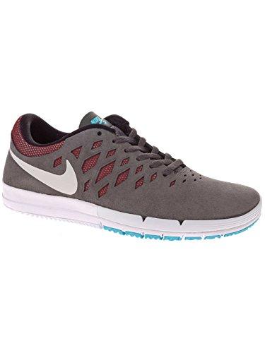 Nike Blazer mid premium 429988601, Baskets Mode Homme dark grey white team red black 016