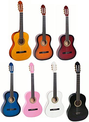 Toledo Primera–Konzertgitarre (Größe 3/4–Farbe: Red Sunburst