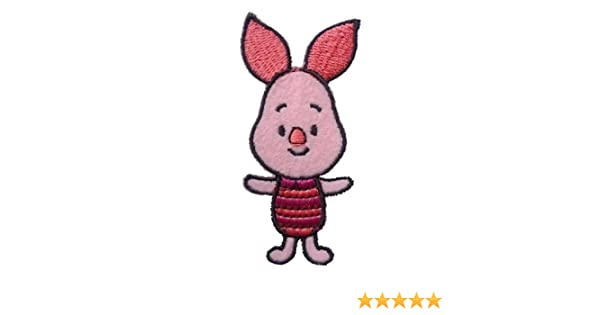 f44e35f6b3 Baby Piglet from Winnie the Pooh Iron-On   Sew-On Patch Badge Art Craft  from ChewyBuy  Amazon.co.uk  Kitchen   Home