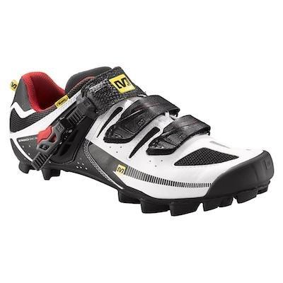 Mavic Herren MBT Radschuh Rush wht/red/blk (Cycling Adidas Schuhe)