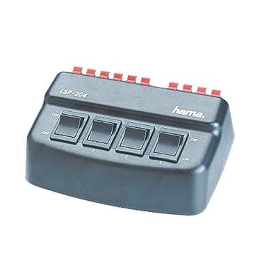 Hama LSP204 Audio Loud Speaker Switch Box