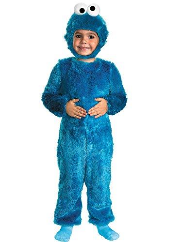 nkind Furry Cookie Monster Kostüm (Blaues Monster Kostüm, Kleinkind,)