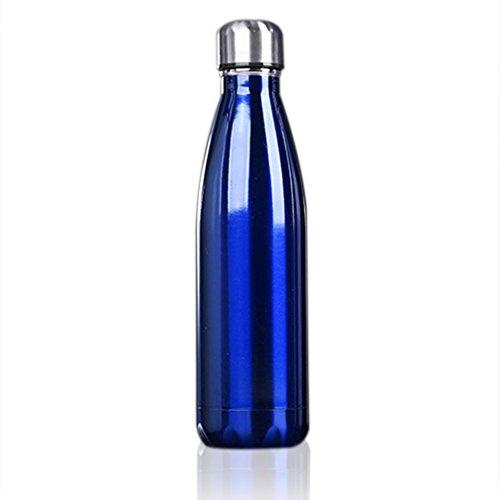 500ml Botella de Agua de Acero Inoxidable Portátil Botella Aislada al