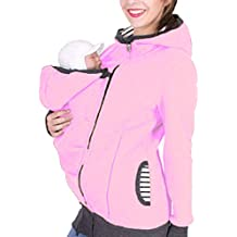 Letuwj Damen Sportliche Tragejacke mit Babyeinsatz