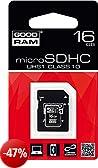 Goodram M1AA-0160R11 16GB MicroSD UHS-I Class 10 memory card - memory cards (16 GB, MicroSD, Class 10, 60 MB/s, 10 MB/s, UHS-I)