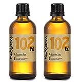 Huile essentielle Naissance Lavande n. º 102 - 200 ml (2x100 ml) - OGM 100% pur, végétalien et non OGM