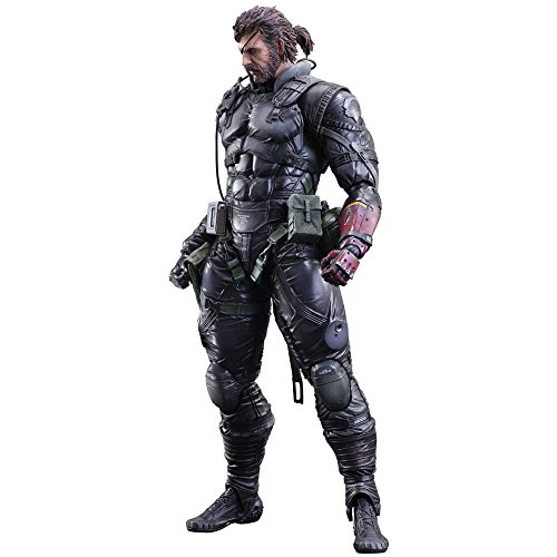 FIGURA PLAY ART KAI METAL GEAR SNAKE SUIT 27 CM (Solid Snake Play Arts)