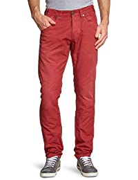 FREEMAN T.PORTER Herren Hose 00025370_2440 / Ashton Canvas F159 crimson