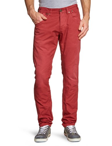 Freeman T.Porter - Pantalone, uomo, rosso (Rot (F159 crimson)), 48 IT (34W)