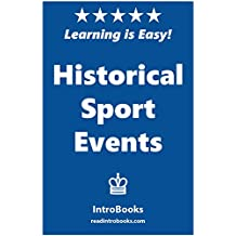 Historical Sport Events (English Edition)