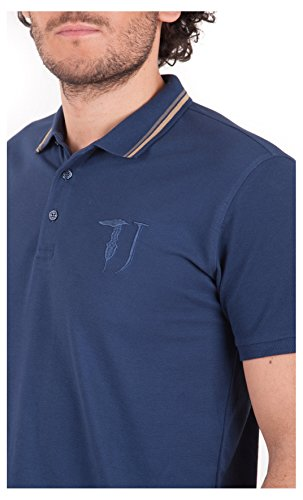 Tussardi Jeans Herren Poloshirt Blau