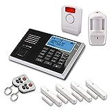 Olympia 5943, Protect 9061 Drahtlose GSM Alarmanlage mit Notruf und Freisprechfunktion, App Steuerung mit ProCom App, schwarz (Alarmanlagenset Plus)