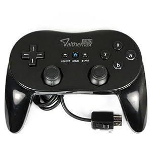 Althemax® Classic Pro Spiel Joysticks Controller-Remote für Nintendo Wii Multi Color – Schwarz
