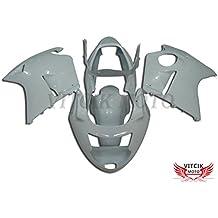 VITCIK (Kit de Carenado para Honda CBR1100XX F5 1996 - 2007 CBR1100 XX F5 96 - 07) Accesorios de repuesto para bastidor y carrocería con completo para motocicleta y moldeo por inyección en ABS(Blanco) A011
