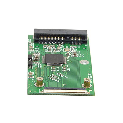 Mini PCI-E mSATA SSD Tarjeta Adaptador ZIF 40 Pines