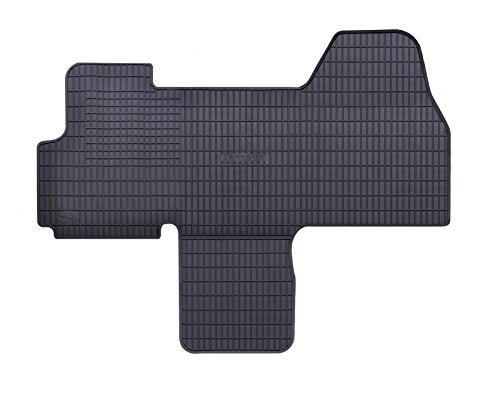 DAPA Prime Gummimatten Gummi Fußmatten Komplettset Schwarz perfekt passend mit Rand 1103786 (Boxer Keine Fahrt)