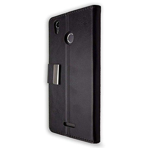 caseroxx Tasche Case Hülle Bookstyle-Case für Gigaset GS270 / GS270 Plus in schwarz