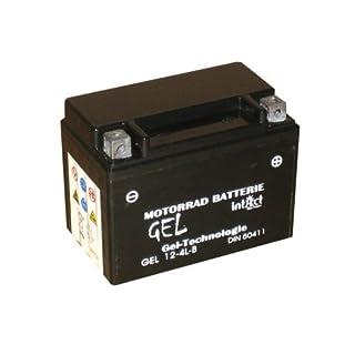 12V 4Ah Gel Power Batterie Akku YB4L-B (120 x 71 x 92 mm) für Roller z.B. Yamaha Aerox, CPI Hussar