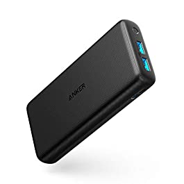 Anker PowerCore Lite 20000mAh Portable Charger, Ultra-High Capacity Power Bank with 4.8A Output, External Battery for iPhone, Samsung Galaxy, and More