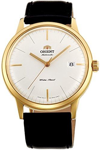 Orient Herren Analog Automatik Uhr mit Leder Armband FAC0000BW0