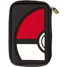 Bigben Interactive - Funda De Transporte Pokemon Con Diseño De Una Pokeball (Nintendo 3DS, New 3DS XL)