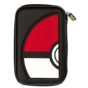 Nintendo Samt-Spiel, Motiv Pokémon Pokeball rot/weiß