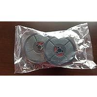 Bobina de doble cinta para máquina de escribir Olivetti Lettera 22 24 32 Studio 45 D82