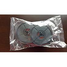 Bobina de doble cinta para máquina de escribir Olivetti Lettera 22 24 32 Studio 45 D82, color negro y rojo, de smco: Amazon.es: Oficina y papelería