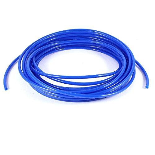 Manguera tubo tuberia de aire de PU - TOOGOO(R)10M 32.8ft 6mm x 4mm Tubo tuberia manguera de PU de poliuretano neumatico Azul