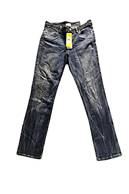 Adidas Neo Womens Denim Blue Straight Jeans W30 L32