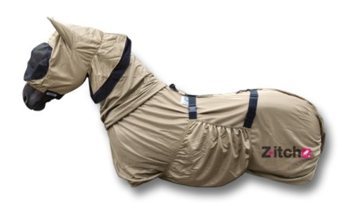 """Z-itch Horse Sweet Itch Rug with Hood 5' 6"""" 1"""