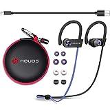 Auriculares Inalambricos Bluetooth Deportivos 4.1 Hbuds H1 SE con Micrófono y Cancelación de Ruido y Impermeables IPX7 para Hacer Correr Running Compatible con iPhone Sony Huawei Samsung