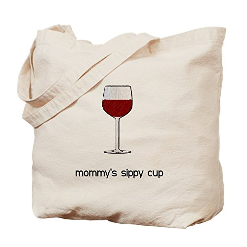 CafePress Mommy's Sippy Cup Tragetasche, canvas, khaki, S