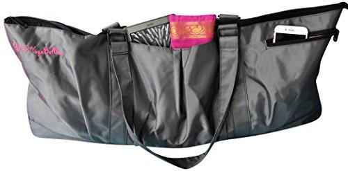 Yogisac® Tasche für Yogamatte, extragroße Sporttasche, umweltfreundlich, mit Mehreren Taschen und Reißverschlüssen, perfekt für Damen...