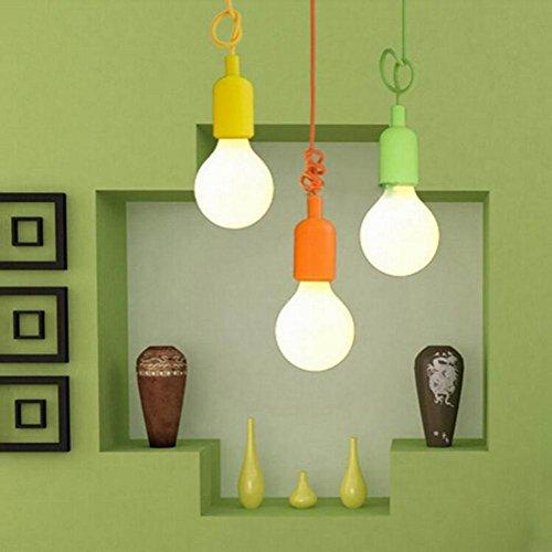 SDKKY Negozio di abbigliamento multi-colore decorativo lampadario creativo soggiorno camera da letto sala da pranzo , purple - Multi Orecchini A Cristallo Di Colore