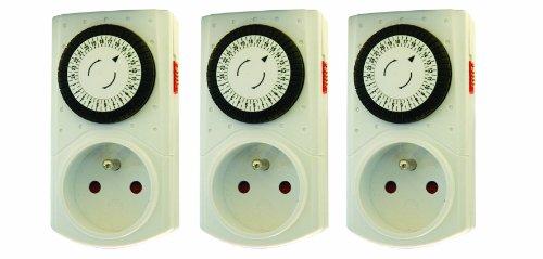 Chacon 54017 - Juego 3 temporizadores mecánicos