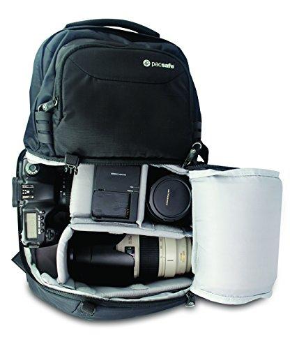 Pacsafe Sac à dos appareil photo Camsafe V25 Olive / Khaki