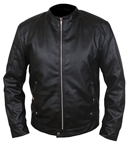F&H Men's Limitless Bradley Cooper Eddie Morra Genuine Leather Jacket