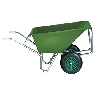 ALTR.-FORT 20287PE1602Large Capacity Silo Truck 160Litres 2WHEELS PE Deep Trays, Tubular Steel Frame with Tilting Support Arms