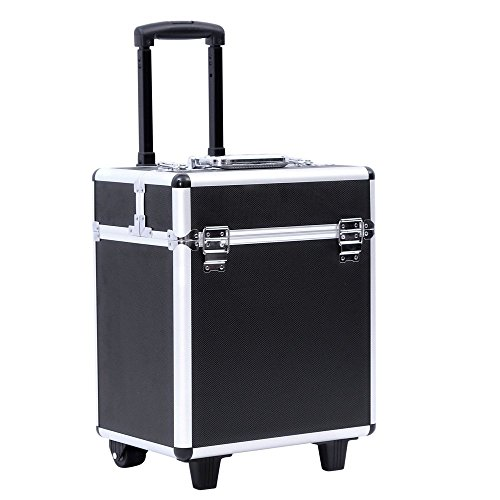 Songmics® trolley make up Beauty Case Nail Art Valigia Cofanetto Porta gioie smalti oggetti JHZ12B