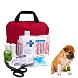 AUTOECHO Pet Verbandskasten Medizinische Box PVC Oxford Tuch Pet Outdoor Camping Verbandskasten für...