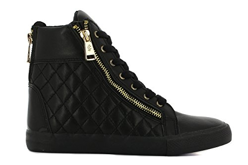 Juicy Couture Ilianna Q, baskets sportives femme Noir (Black)
