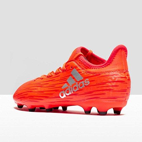 adidas X 16.3 Fg J, Chaussures de Foot Garçon Rouge