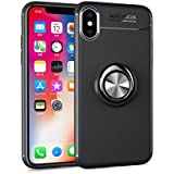 Shell IPhone X IPhone Xs Case Danallc Ultra Slim Protective Iridescent Excellence Cover Protective Case Compatible With IPhone X IPhone Xs (Black)